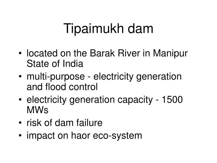 Tipaimukh dam