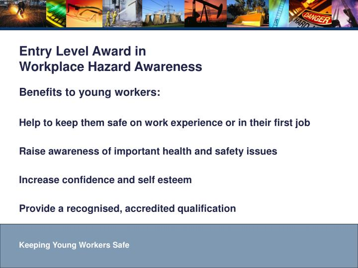 Benefits to young workers: