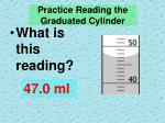 practice reading the graduated cylinder3