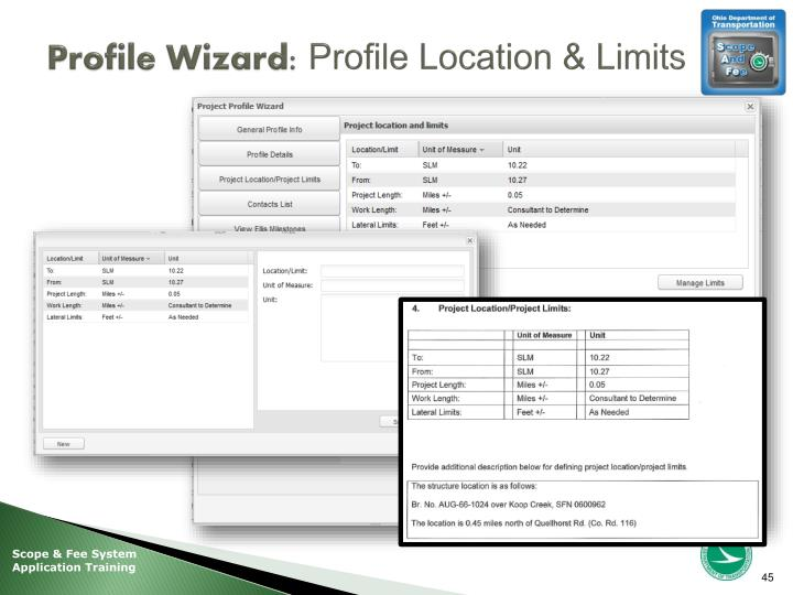 Profile Wizard: