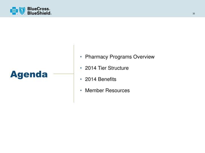 Pharmacy Programs Overview
