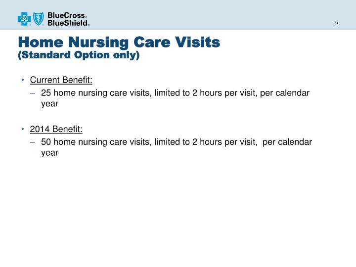 Home Nursing Care Visits