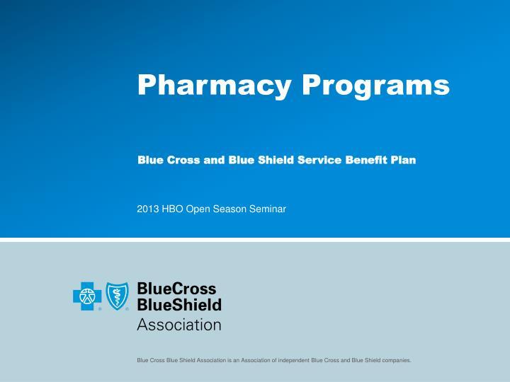 Pharmacy Programs