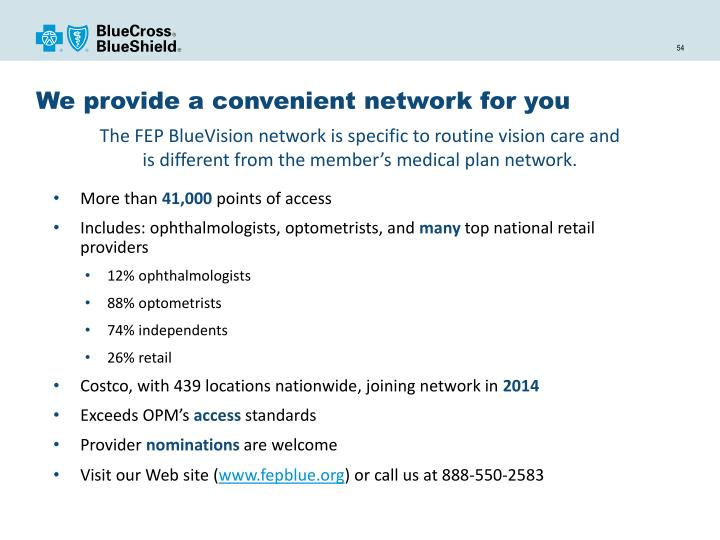 We provide a convenient network for you