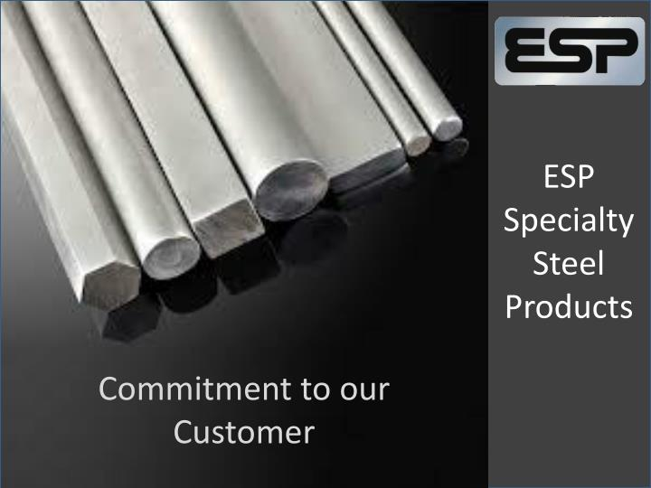 esp specialty steel products