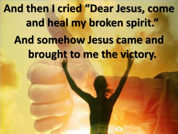 ppt - victory in jesus powerpoint presentation