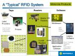 a typical rfid system