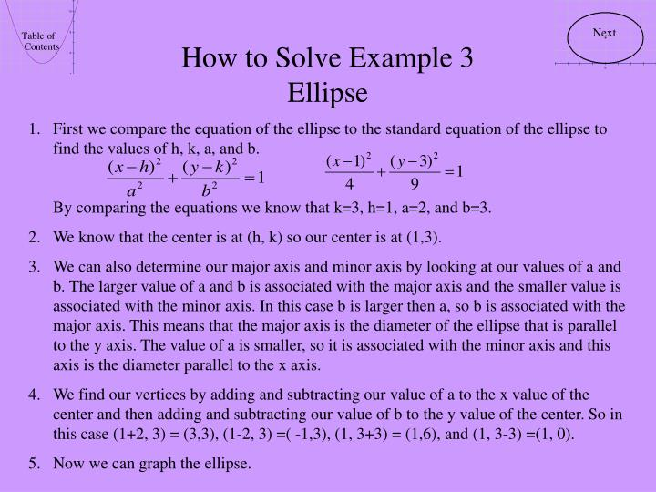 How to Solve Example 3
