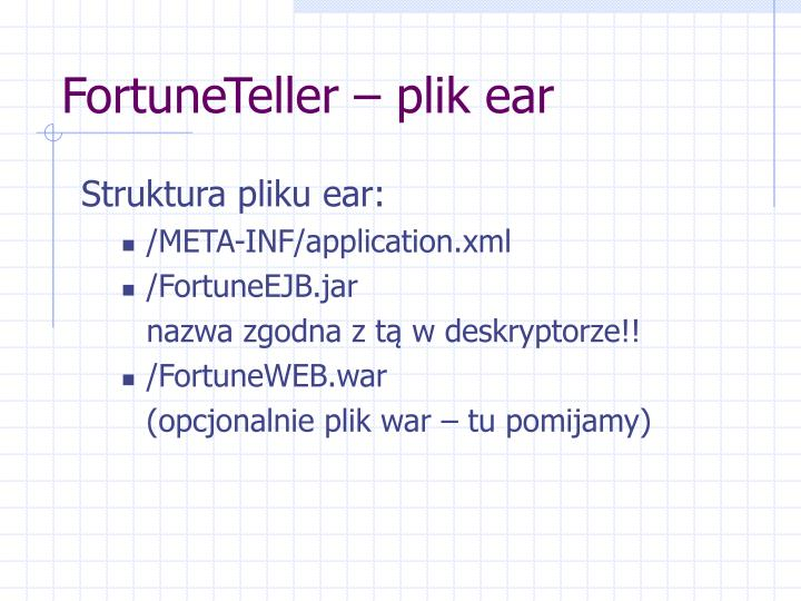 FortuneTeller – plik ear