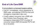 end of life care dnr