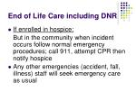 end of life care including dnr2