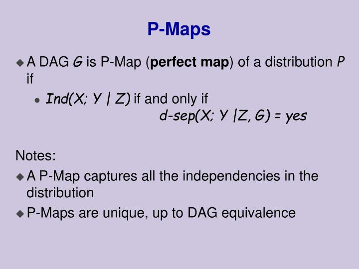 P-Maps
