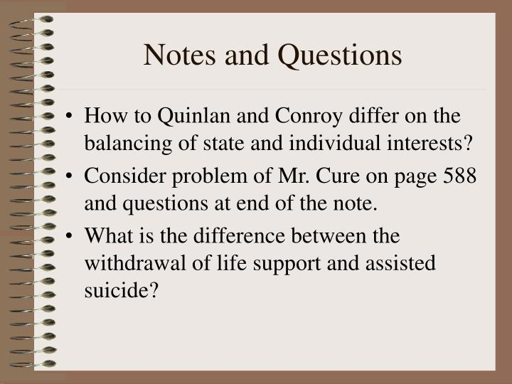 Notes and Questions