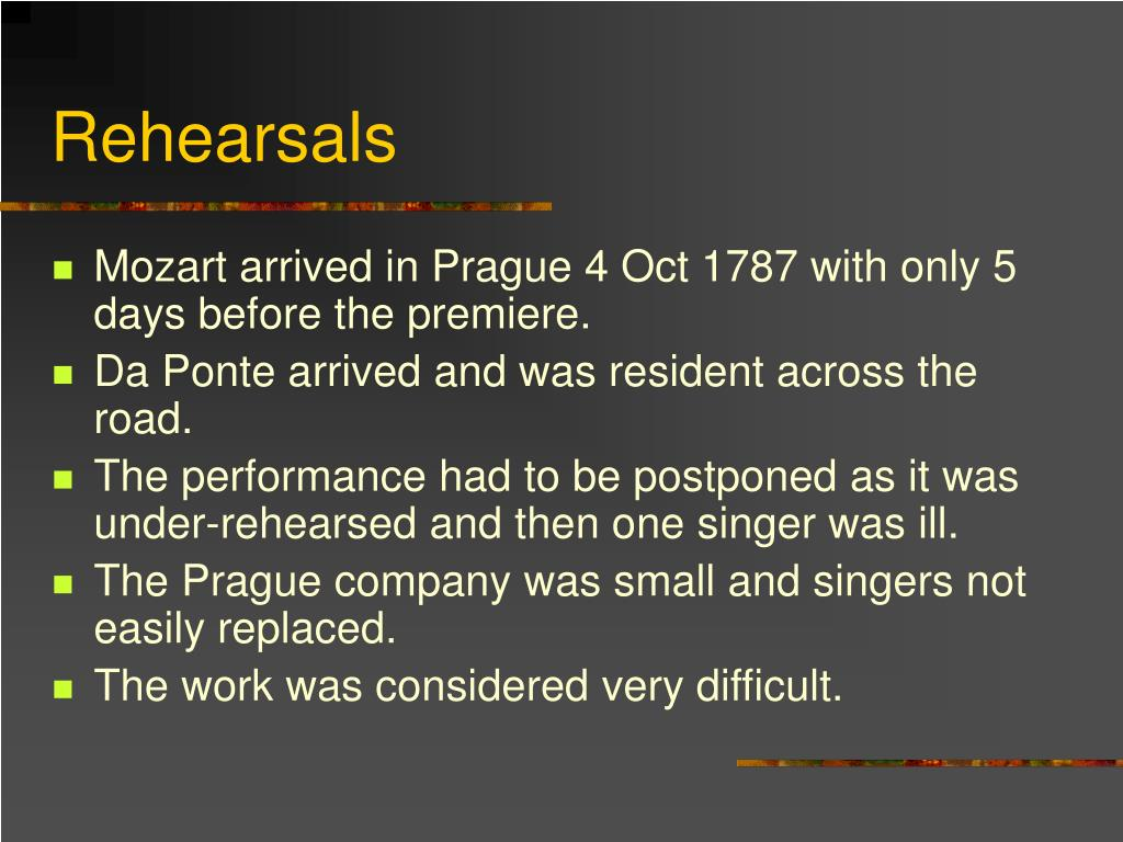 PPT - Don Giovanni 1787 PowerPoint Presentation - ID:6675713