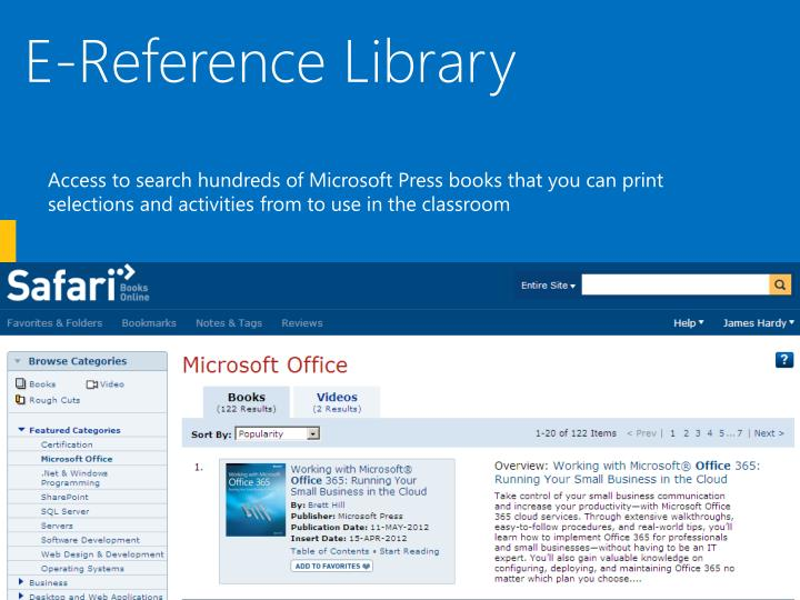 E-Reference Library