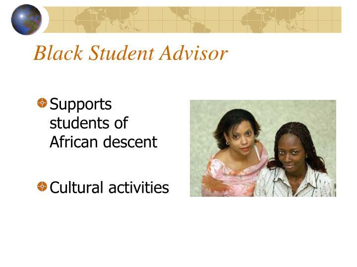 Black Student Advisor