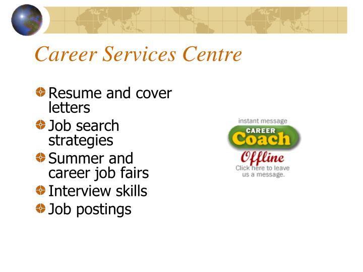 Career Services Centre