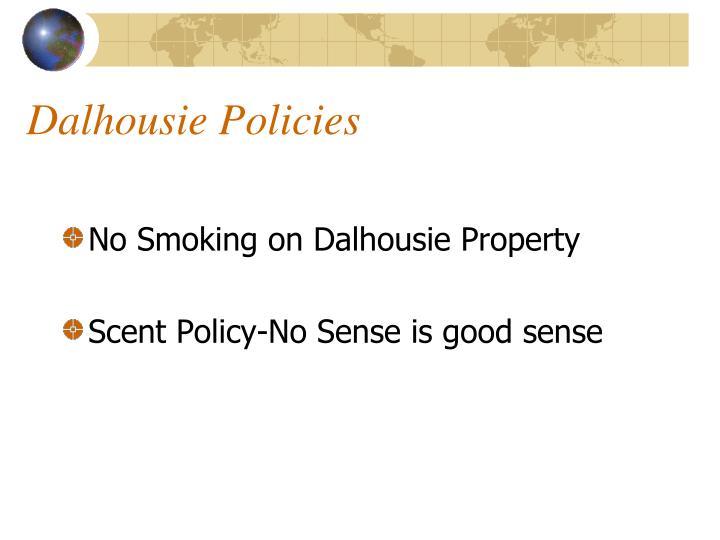 Dalhousie Policies