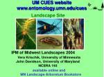 um cues website www entomology umn edu cues
