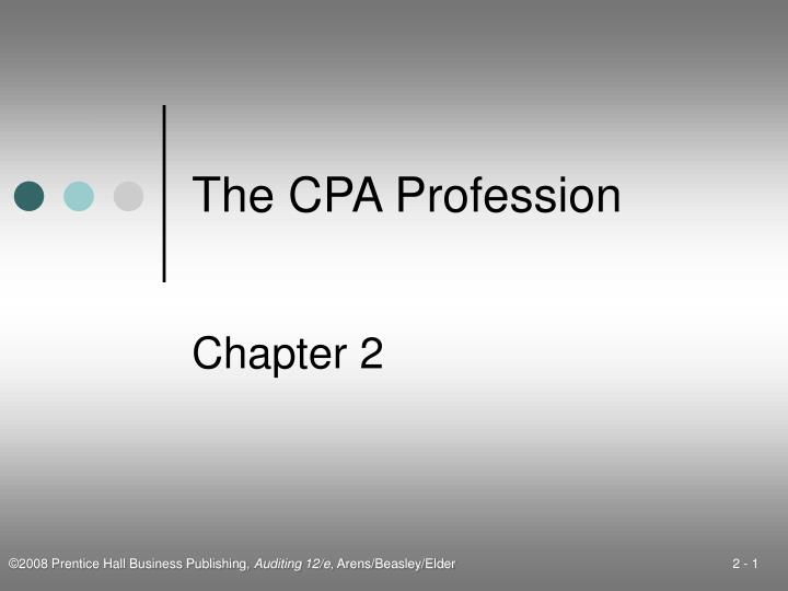 the cpa profession n.