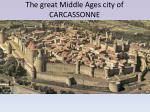 the great m iddle a ges city of carcassonne