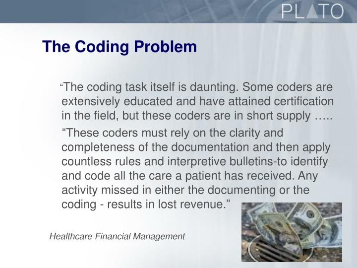 The Coding Problem
