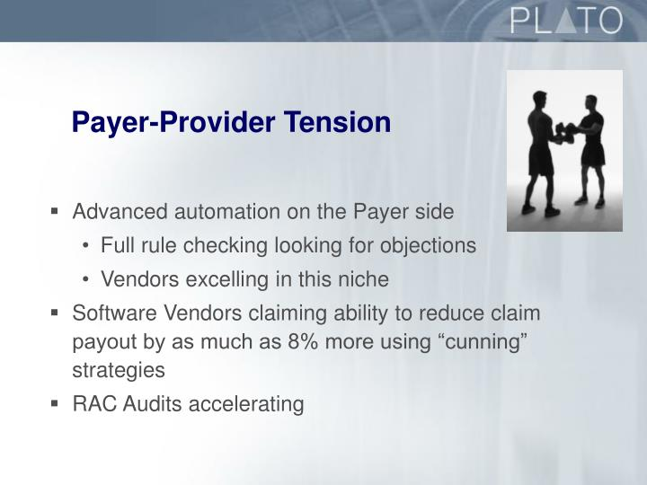 Payer-Provider Tension