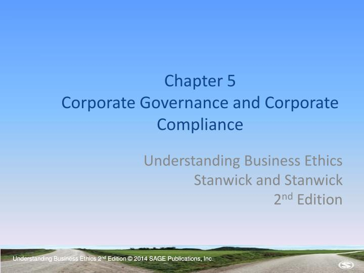 chapter 5 corporate governance and corporate compliance n.