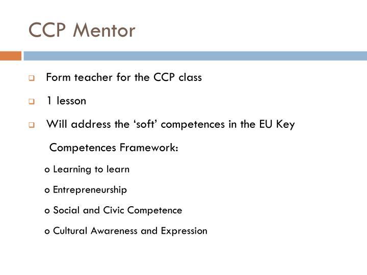 CCP Mentor