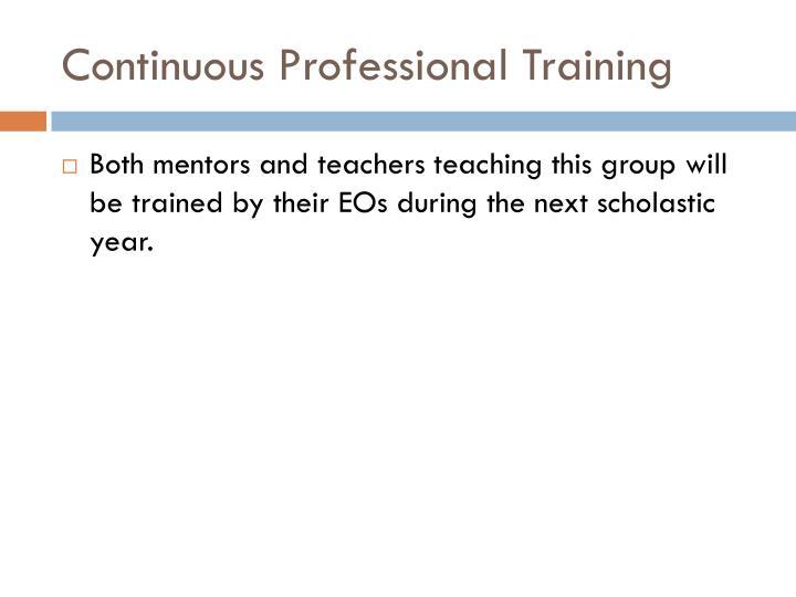 Continuous Professional Training