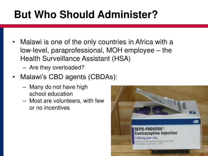 But Who Should Administer?