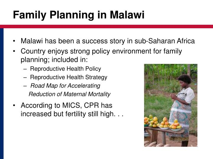 Family Planning in Malawi