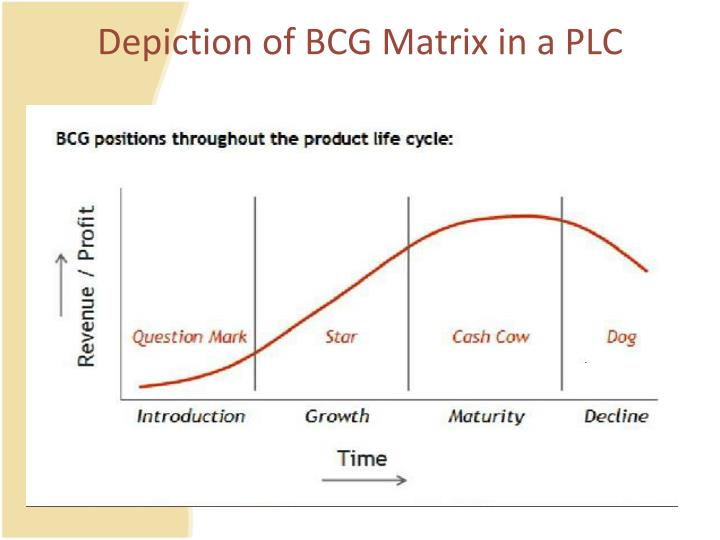 relate the bcg with the product life cycle