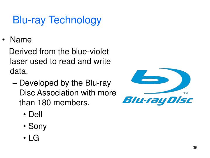 Blu-ray Technology