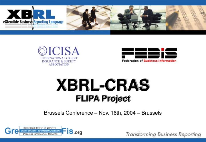 Brussels conference nov 16th 2004 brussels
