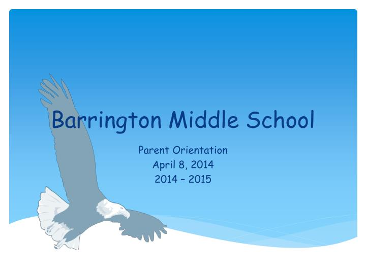 barrington middle school n.
