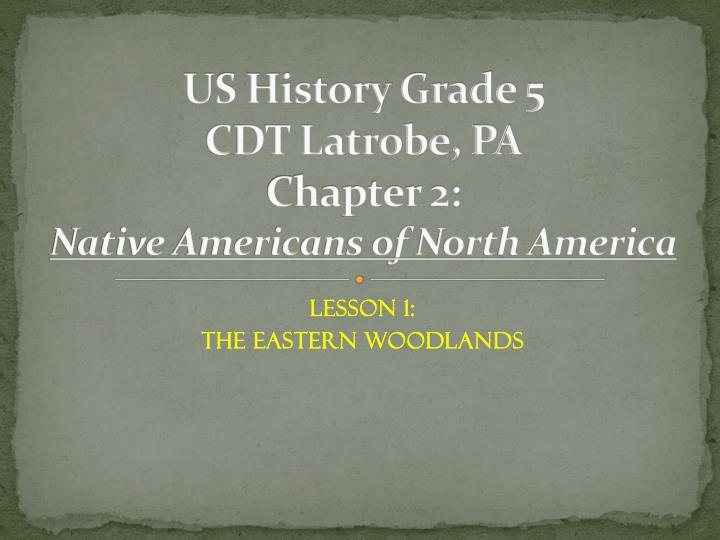 the indians of the eastern woodlands essay Native americans of the eastern woodlands 8-11 notes eastern woodland indians get your custom essay sample.