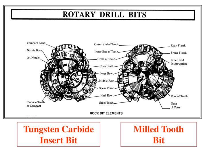 Tungsten Carbide Insert Bit