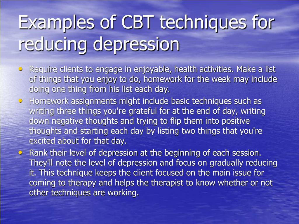 PPT - Cognitive behavioral therapy (CBT) PowerPoint ...