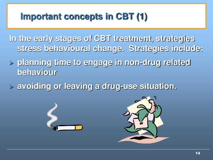 Important concepts in CBT (1)