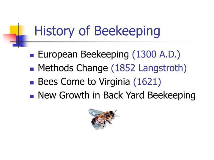 History of Beekeeping