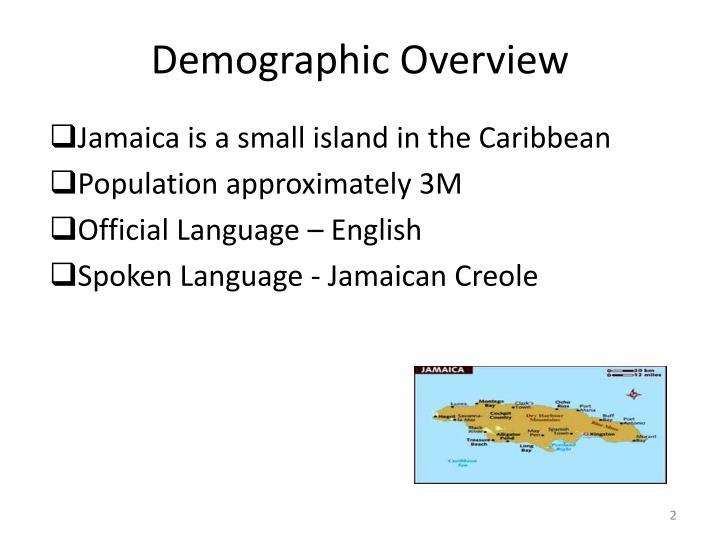 Demographic overview