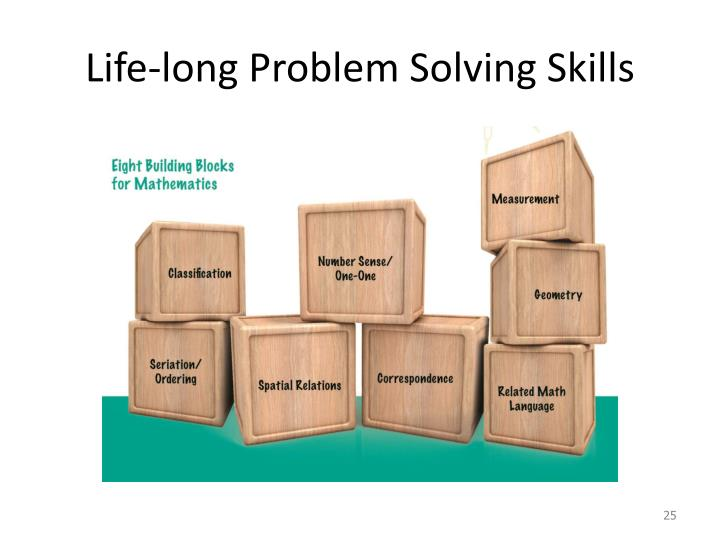 Life-long Problem Solving Skills