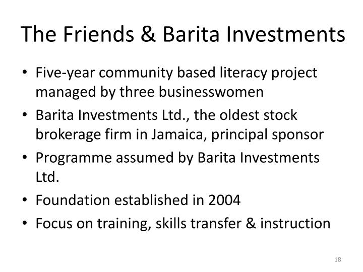The Friends & Barita Investments