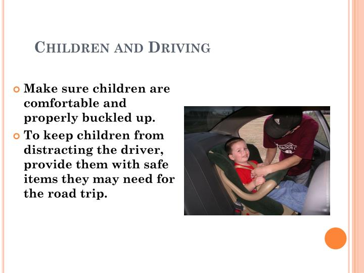 Children and Driving