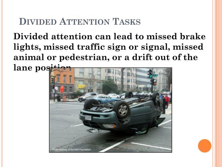 Divided Attention Tasks