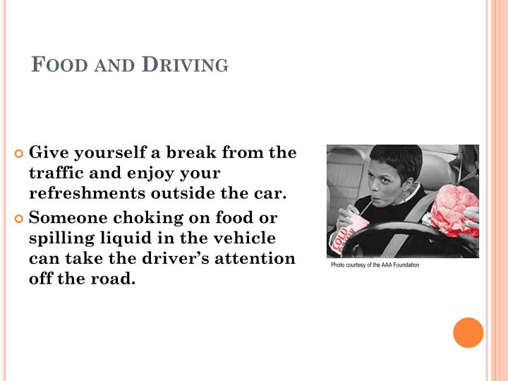 Food and Driving