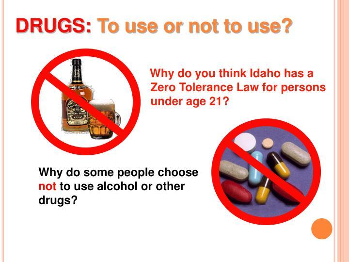 DRUGS: