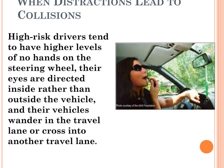 When Distractions Lead to Collisions