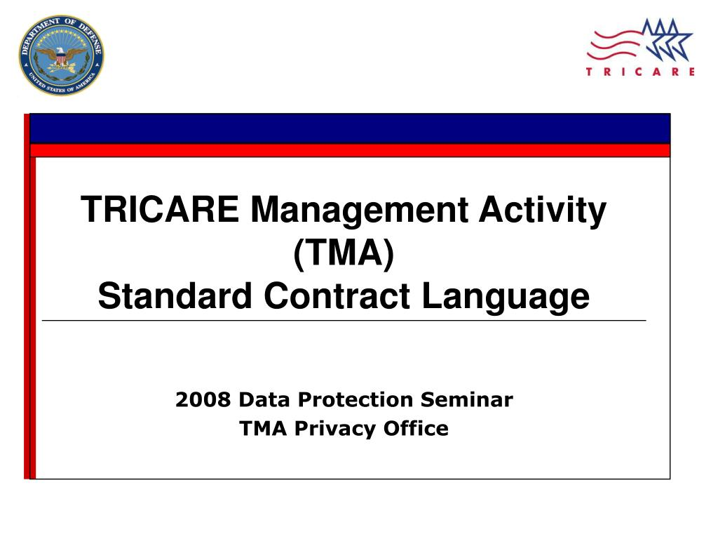 PPT - 2008 Data Protection Seminar TMA Privacy Office ...